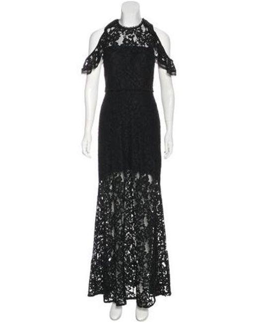 Alexis - Black Lace Maxi Dress - Lyst