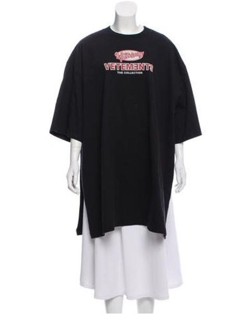 364faaba vetements-Black-2018-Open-Sides-T-shirt.jpeg