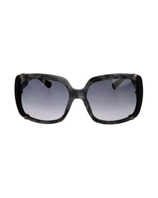 589525ec560 Dior - Metallic Chicago Square Sunglasses Silver - Lyst ...