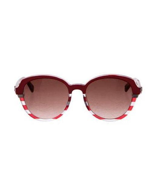 06c3694f1a Dior - White Croisette 3 Sunglasses Clear - Lyst ...