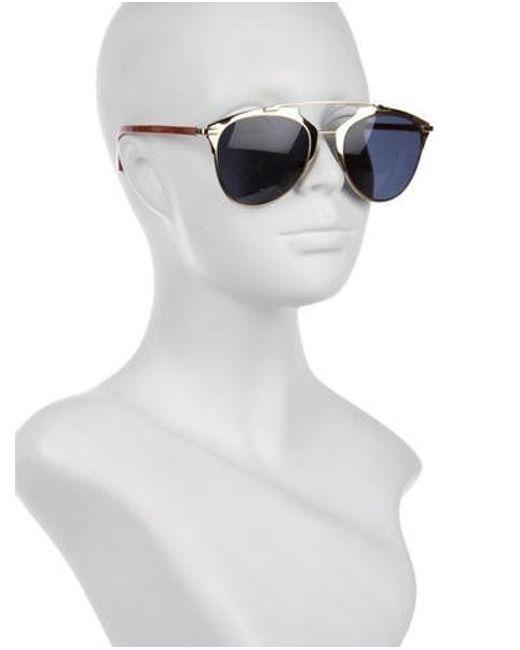 b37497523924 ... Dior - Metallic Reflected P Aviator Sunglasses Gold - Lyst