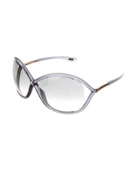 68fea144b69c5 ... Tom Ford - Metallic Whitney Gradient Sunglasses Gold - Lyst ...