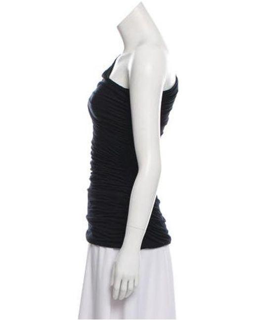 2092b2e62f31d ... Diane von Furstenberg - Black Silk Blend Off-the- Shoulder Top W  Tags  ...