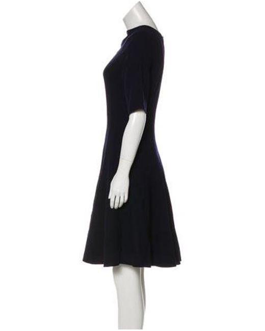 64436ba145 ... Akris - Black Flared Dress - Lyst ...