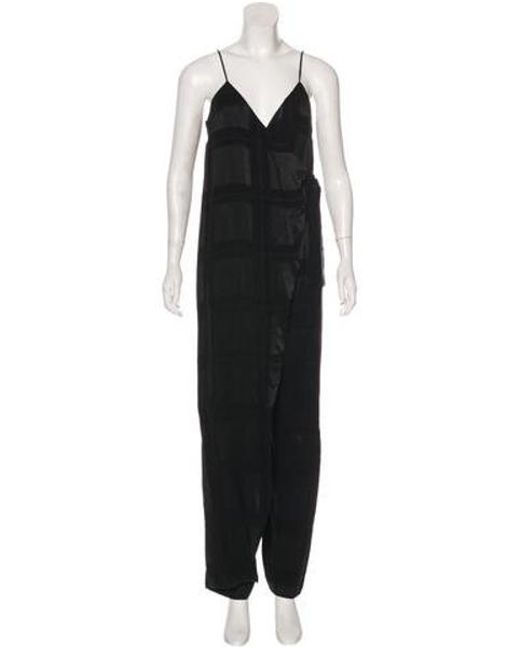023aa2a40e1 Ulla Johnson - Black Demi Twill Jumpsuit - Lyst ...