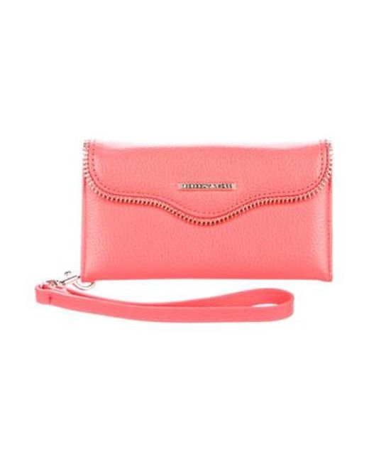 buy online 0a91f 9f590 Women's Metallic Iphone 6 Leather Wallet Coral