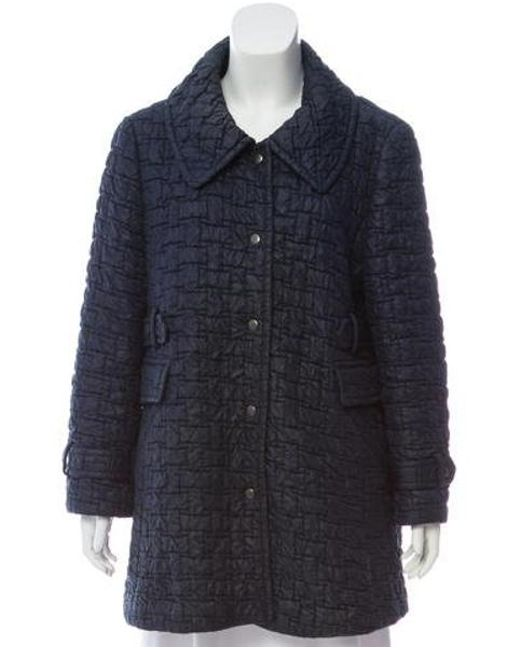 Ports 1961 - Blue Wool Short Coat Navy - Lyst ... 63bab81f8