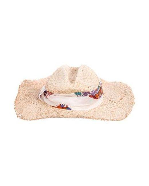 2a6d363ce71 ... Emilio Pucci - Natural Wide Brim Hat Tan - Lyst ...