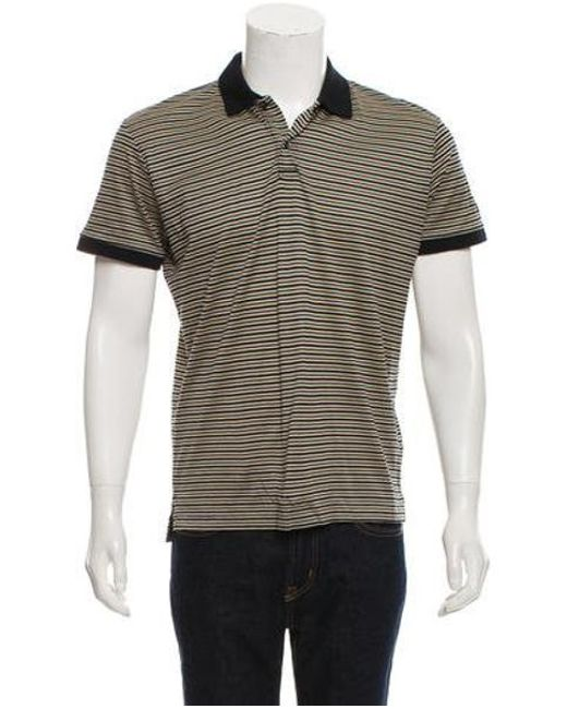 1309228a ... uk bogner natural striped polo shirt tan for men lyst 592df fa571