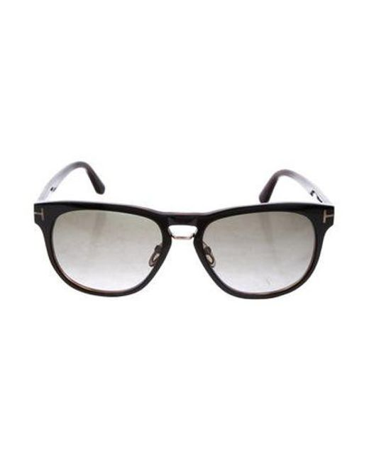 1d6b37aede5 Tom Ford - Black Franklin Tinted Sunglasses for Men - Lyst ...