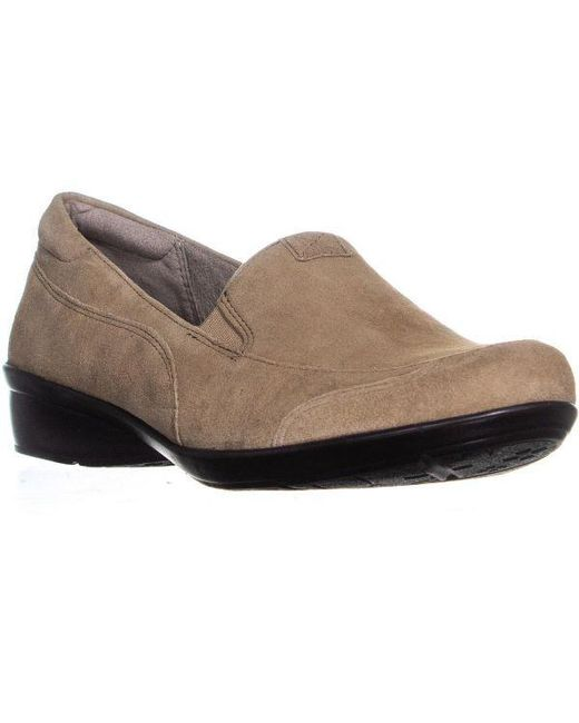 3c5b346927a Naturalizer - Brown Channing Slip-on Comfort Loafers - Lyst ...
