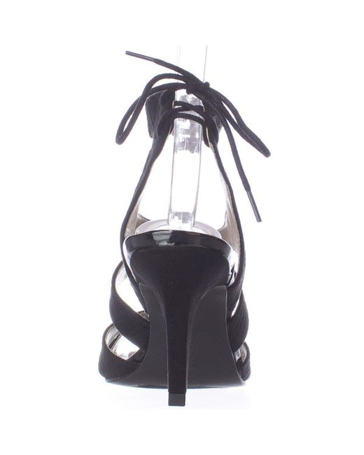 98542927775 Lyst - Bandolino Misilana Strappy Dress Sandals in Black - Save 14%