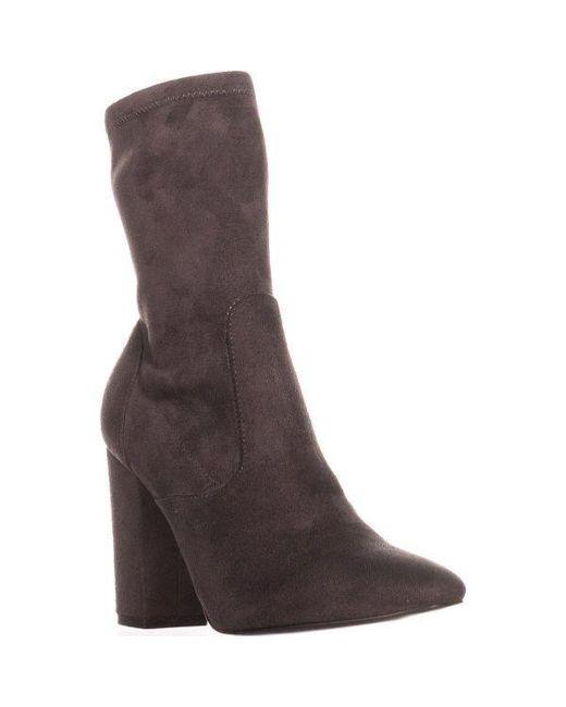 Ivanka Trump - Gray Lynna Ankle Booties - Lyst