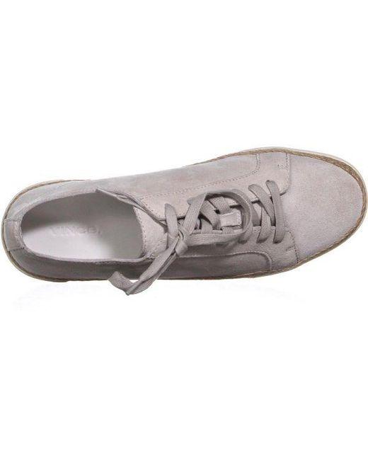 4343d564a6c ... Vince - White Jadon Lace Up Espadrilles Low Top Sneakers - Lyst ...