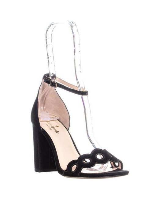Kate Spade - Black Orson Ankle Strap Pumps - Lyst