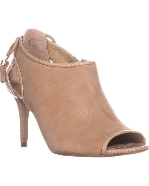 42c17da71052f Michael Kors - Multicolor Michael Jennings Mid Peep Toe Booties - Lyst ...