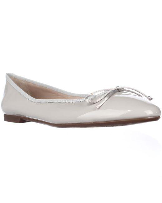 Sweet Ballerina   Gray Lera Bow Ballet Flats - Grey   Lyst