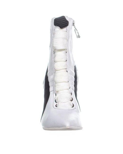 60d3f9a4e69049 ... PUMA - White Fenty High Heel Sneaker Ankle Boots - Lyst ...