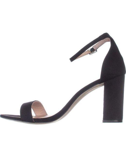 460cac114d5 ... Madden Girl - Black Beella Dress Sandal - Lyst ...