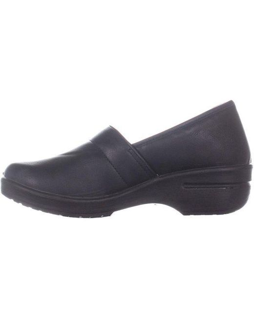 7a3115578090 ... Easy Street - Black Easy Works By Lyndee Professional Work Shoes - Lyst  ...