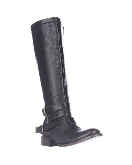 Freebird by Steven | Black Madden Irish Riding Strapped Boots | Lyst