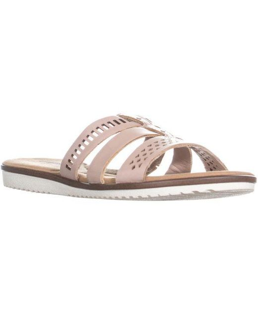 Clarks - Pink Kele Willow Strappy Sandal - Lyst