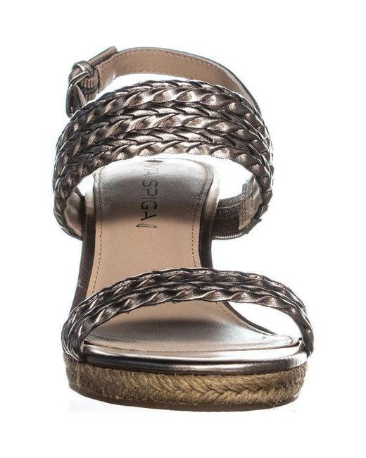 4b60e83271a Lyst - Via Spiga Indira Wedge Sandals