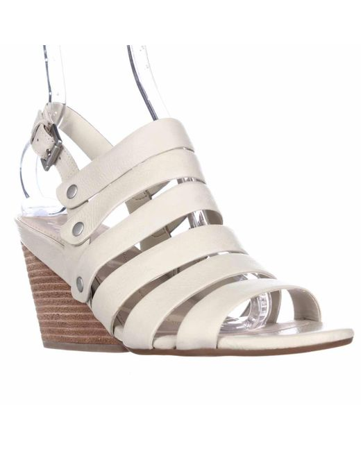 Naya | Multicolor Lassie Strappy Wedge Sandals | Lyst