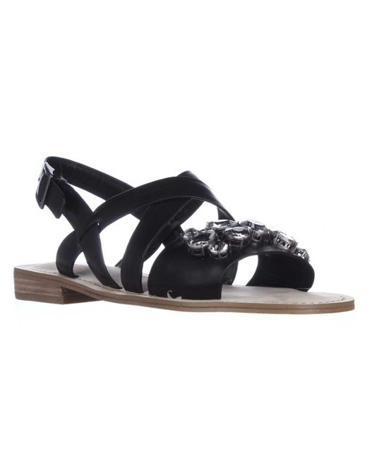 BCBGeneration - Multicolor Remmy Jeweled Flat Sandals - Lyst