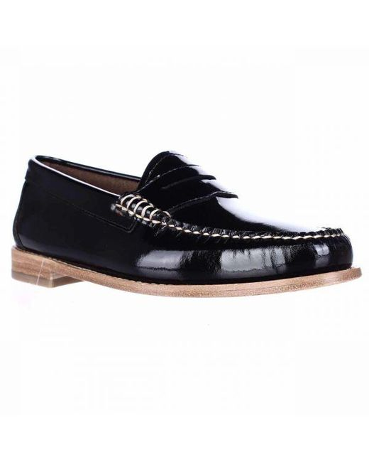 06ac8ad0fb5 G.H.BASS - Black Weejuns Whitney Penny Loafers - Lyst ...