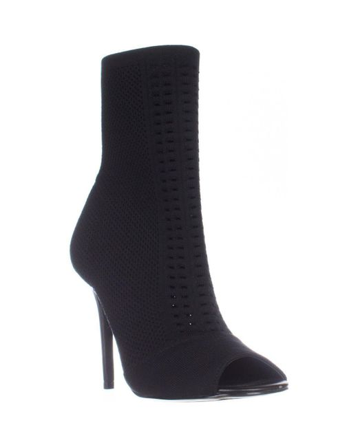 Charles David - Black Rebellious Stretch Pull On Ankle Boots - Lyst