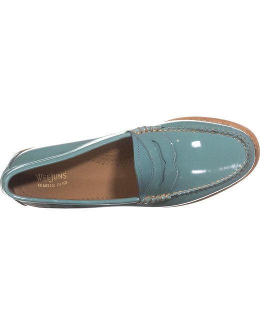 d56dffa585c Lyst - G.H.BASS Weejuns Whitney Penny Loafers in Blue - Save 13%
