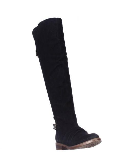 Kensie - Stella Over-the-knee Boots - Black Suede - Lyst