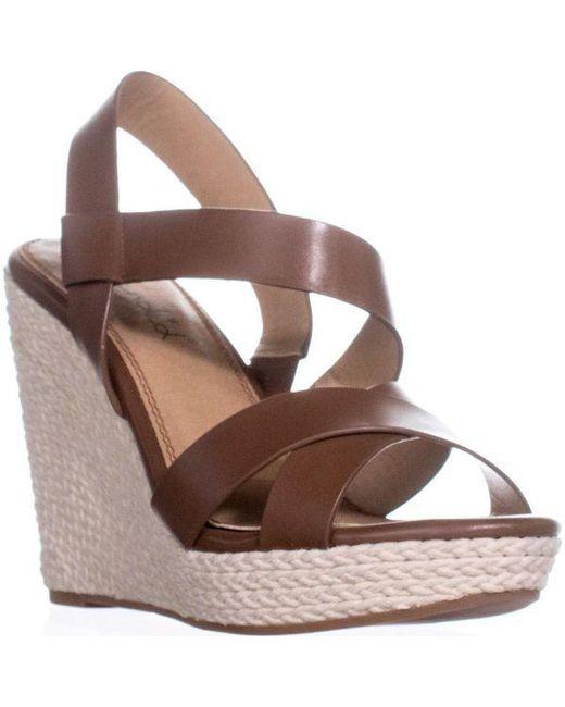 cc613304663 Splendid - Brown Dallis Espadrille Wedge Sandals - Lyst ...