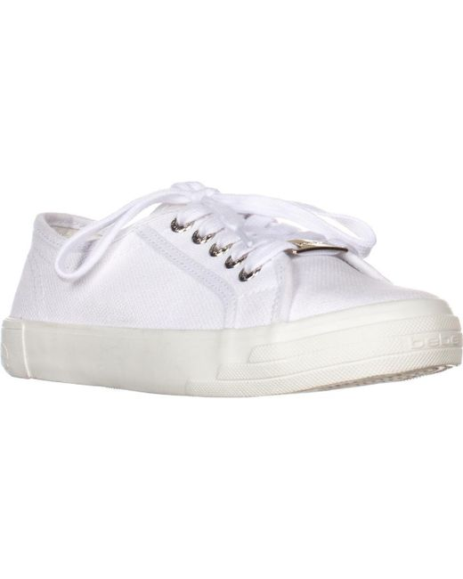 6f9e9020213 Lyst - Bebe Sport Dane Lace Up Fashion Sneakers in White - Save 12%