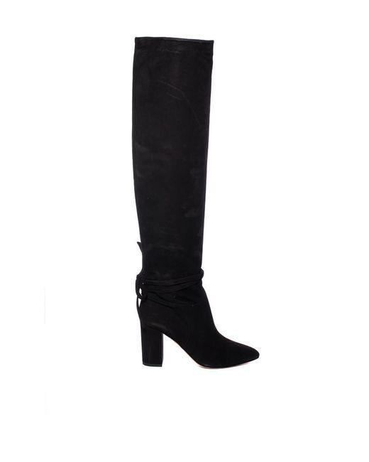 Aquazzura - Black Milano Boot - Lyst