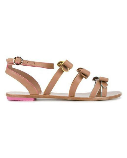 SOPHIA WEBSTER Samara flat sandals 7mKXLU9