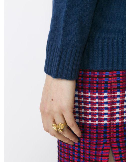 Aurelie Bidermann   Multicolor Hesperides Ring   Lyst