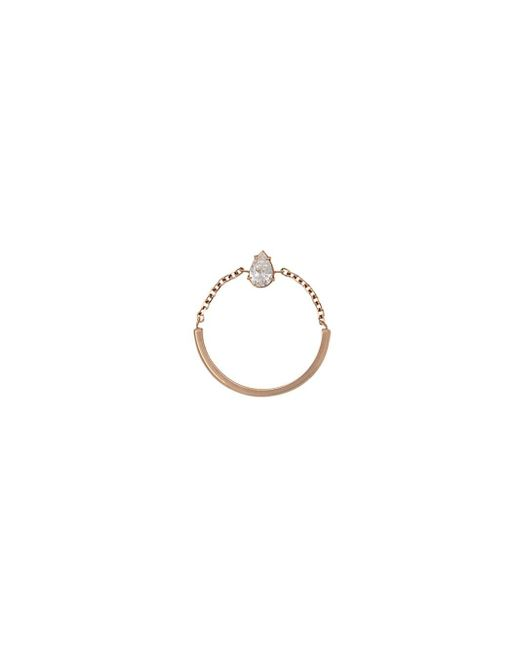 Anita Ko | Metallic Diamond Chain Ring | Lyst