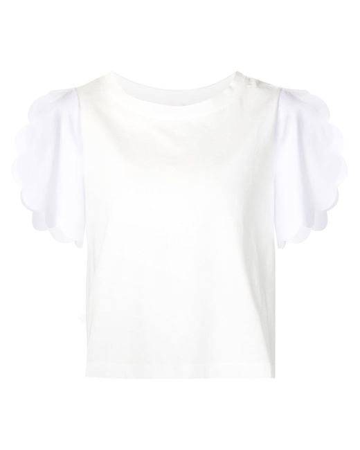 See By Chloé | White Daisy Top | Lyst