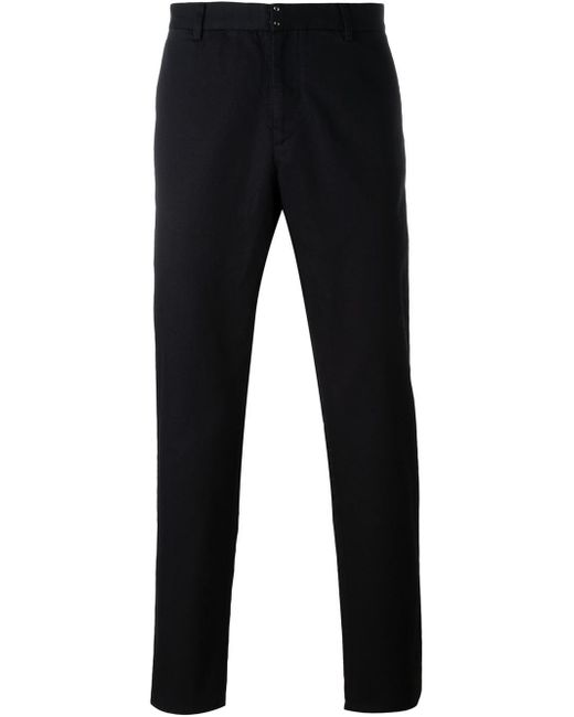Maison Margiela | Black Classic Chinos for Men | Lyst