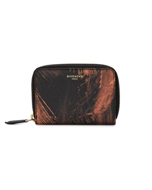 Givenchy | Brown 'paris' Wallet for Men | Lyst