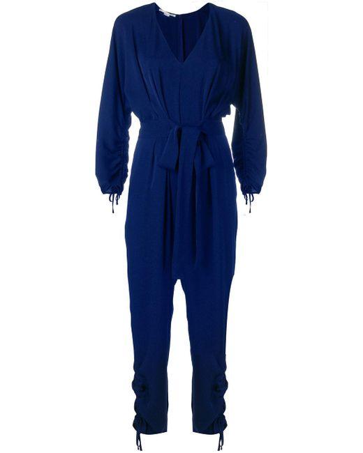 Fashion Style Cheap Online Deals Cheap Online classic belted jumpsuit - Blue Stella McCartney Best Place Discount Websites Amazing TAtAG0ENk