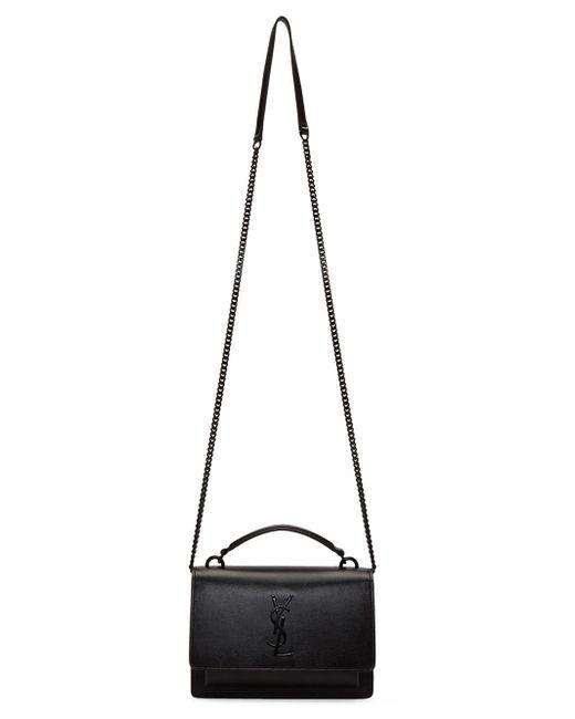 15fec930210d ... Saint Laurent - Multicolor Ysl Small Sunset Monogram Bag - Lyst ...