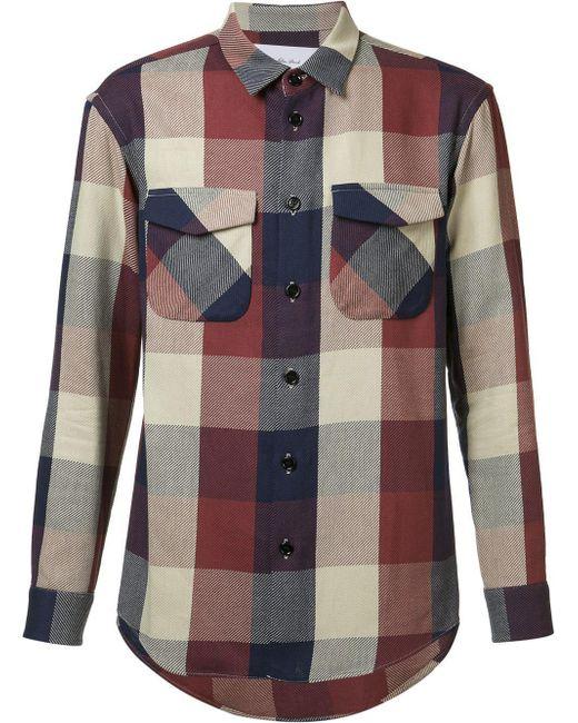 Julien David - Multicolor Flap Pocket Shirt for Men - Lyst