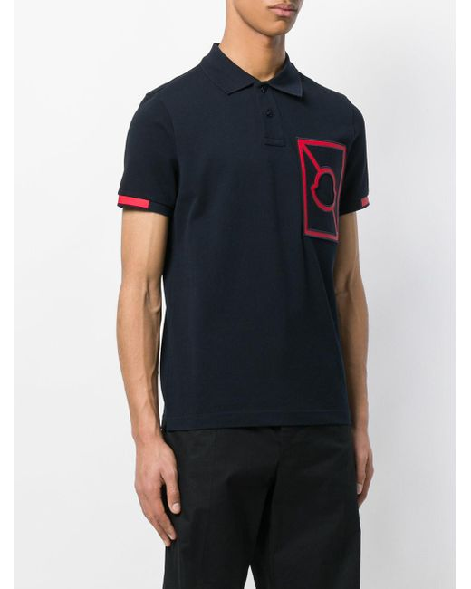... Moncler - Multicolor X Craig Green Chest Logo Polo-shirt for Men - Lyst ...