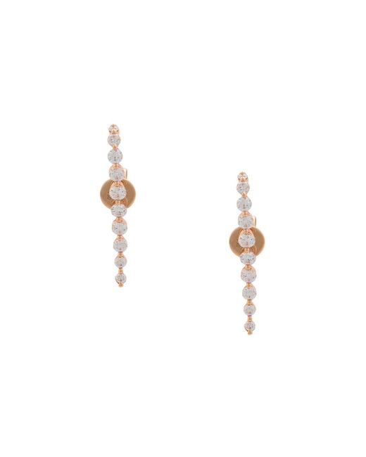 Anita Ko | Multicolor Pair Med Cascade Earrings | Lyst