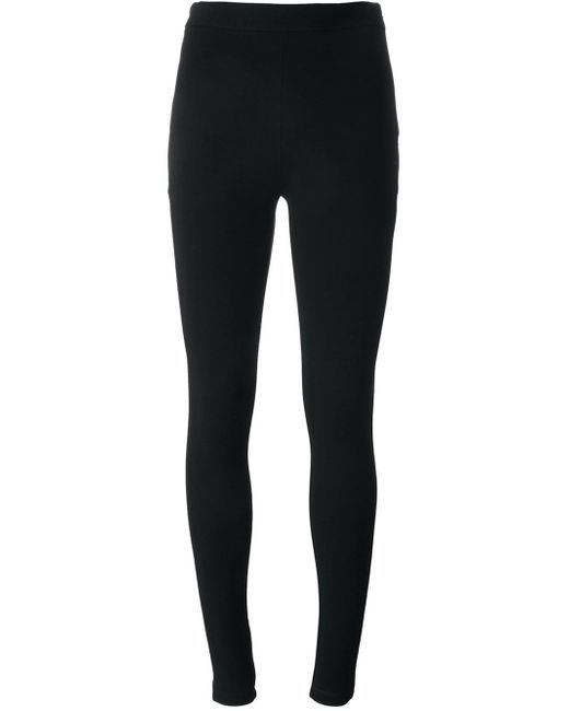 Givenchy | Black Embroidered Star Leggings | Lyst