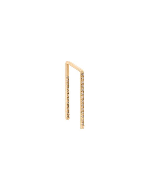 Shihara - Multicolor Embellished Bar Earring - Lyst