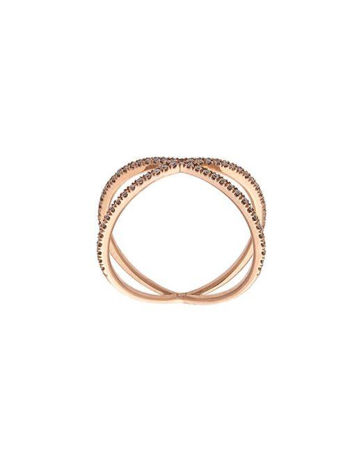 Eva Fehren - Multicolor Fine Shorty Ring - Lyst